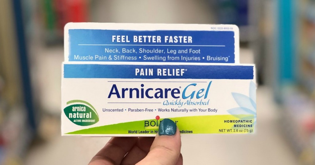 arnicare pain relief gel at walgreens