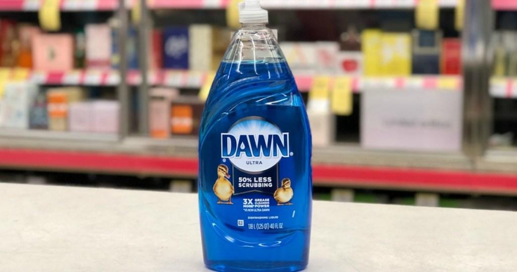 dawn dish liquid at walgreens