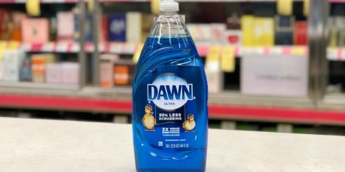 4 Dawn Ultra Dish Soap Bottles & 2 Sponges Just $8.49 Shipped on Amazon