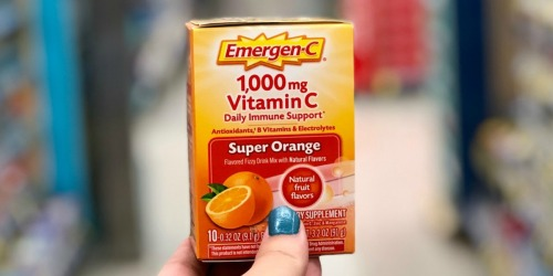 Emergen-C Daily Immune Drinks 10-Pack Just $1.99 After Walgreens Rewards (Regularly $4.50)