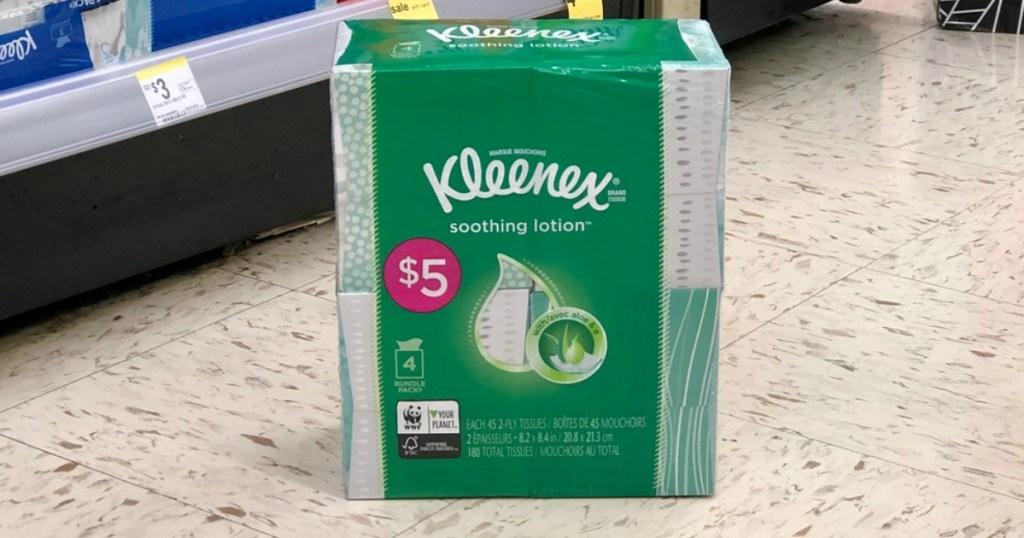kleenex facial tissues at walgreens