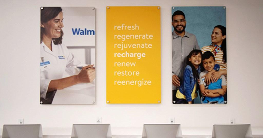 Walmart Health Clinic interior