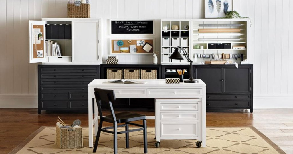 martha stewart picket fence desk