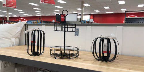 2-Tiered Stands & Wire Candle Holders as Low as $3 at Target