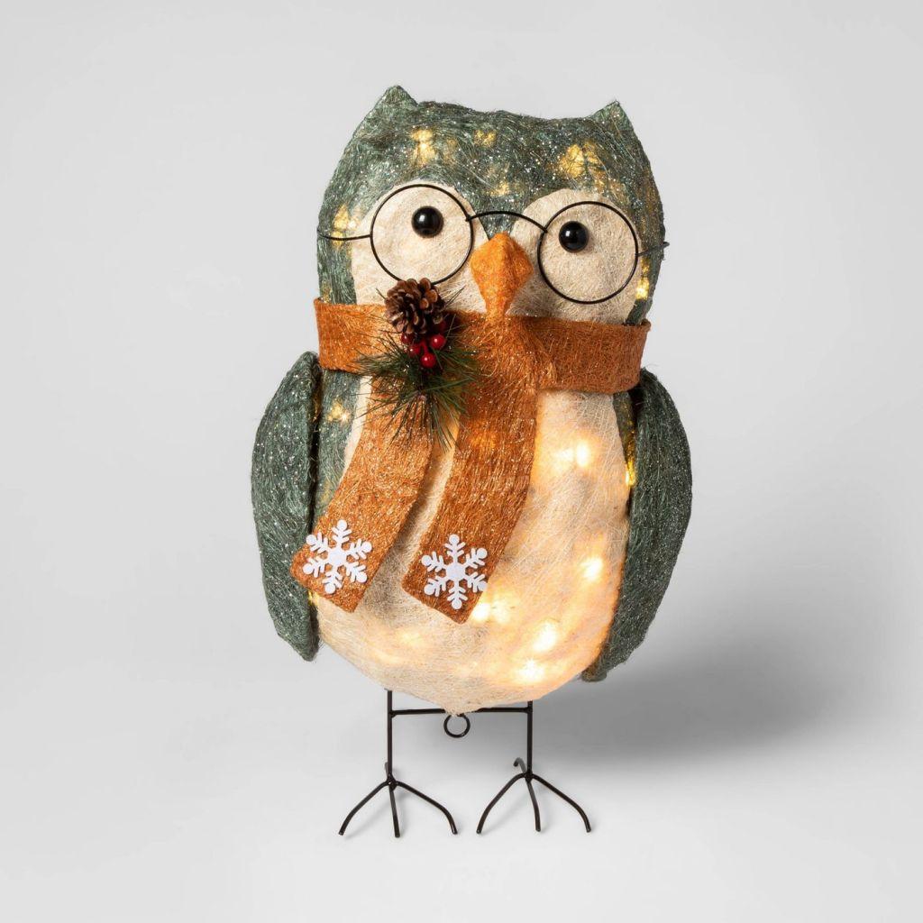 Owl Light Decoration