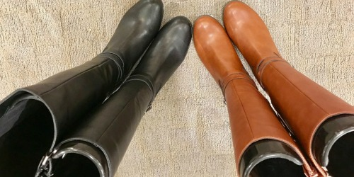 Women's Riding Boots as Low as $24.99 Each Shipped at Macy's + More