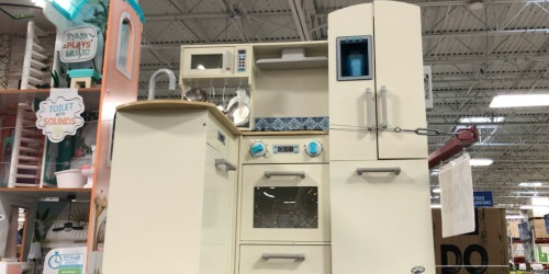 Deluxe Wooden Kitchen or Supermarket Play Center Only $99.98 at Sam's Club