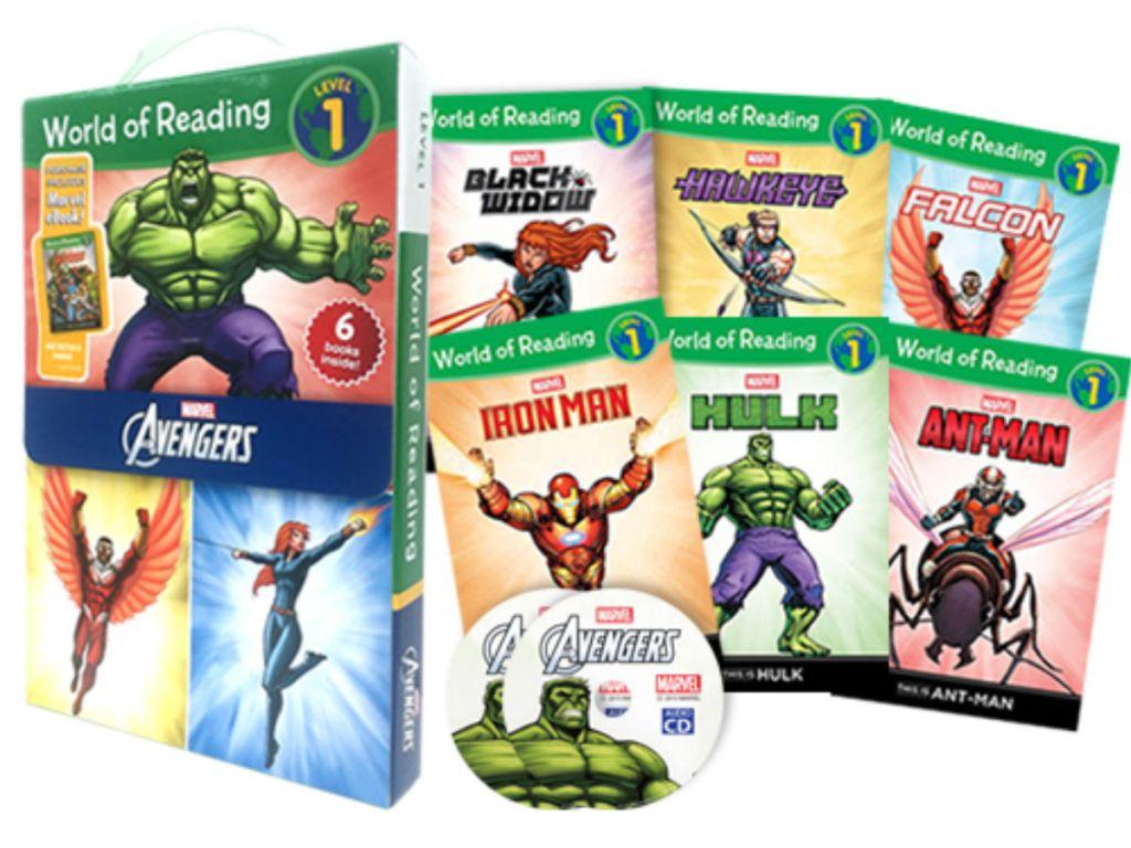 world of Reading avengers book
