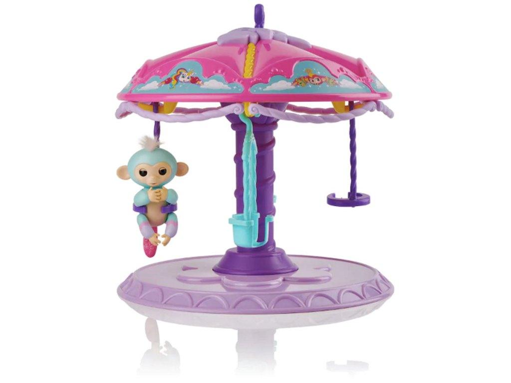 wowwee fingerlings carousel stock image