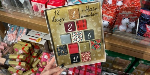 12 Days of Hair Scrunchies Advent Calendar Just $15 Shipped for Kohl's Cardholders (Regularly $26)