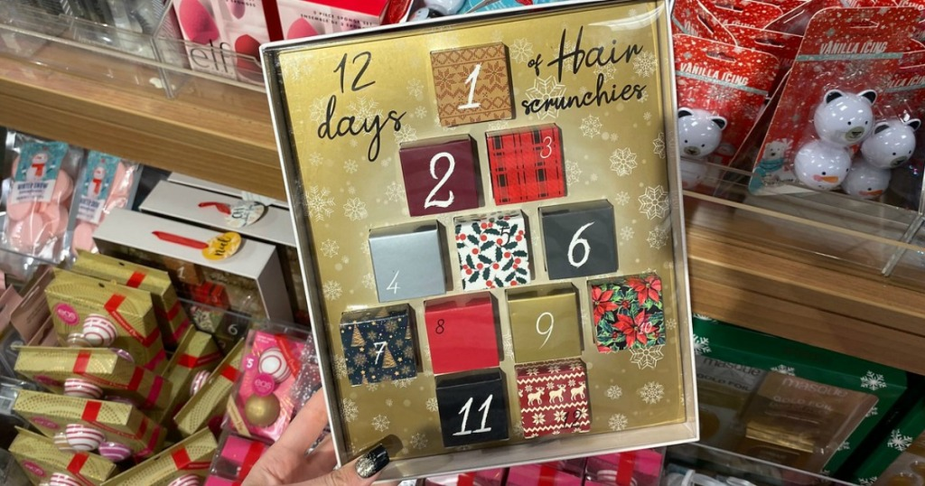 12 days of scrunchies set