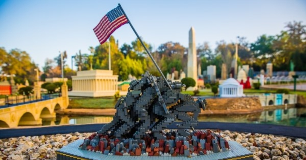Legoland Florida military display