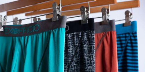 ExOfficio Men's Boxer Briefs 3-Pack as Low as $20.49 | Great Reviews