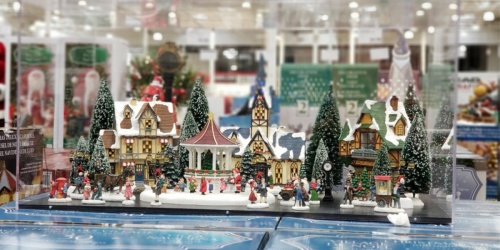 Christmas Village Decor Set w/ Lights & Music Only $99.99 at Costco | Plays 8 Christmas Songs