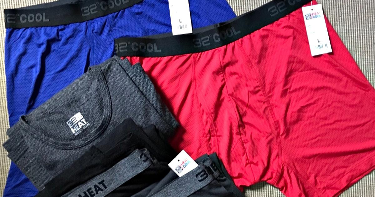 mens 32 degrees boxer briefs