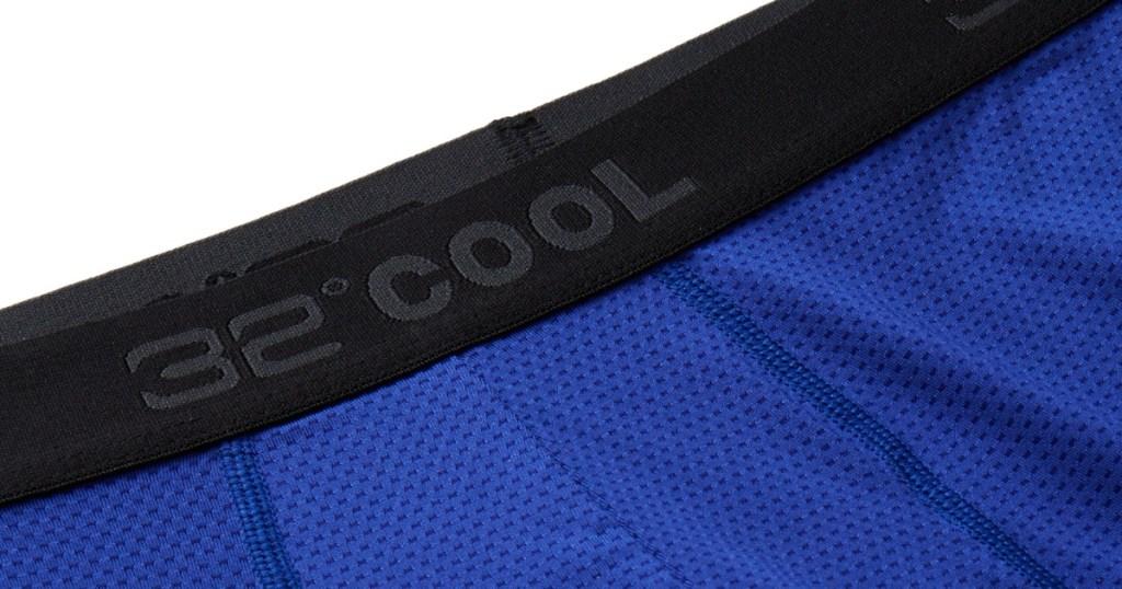 32 degrees men's boxer briefs blue