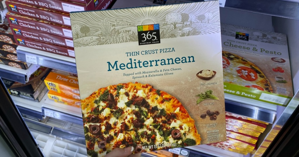 365 Organic Pizza at Whole Foods