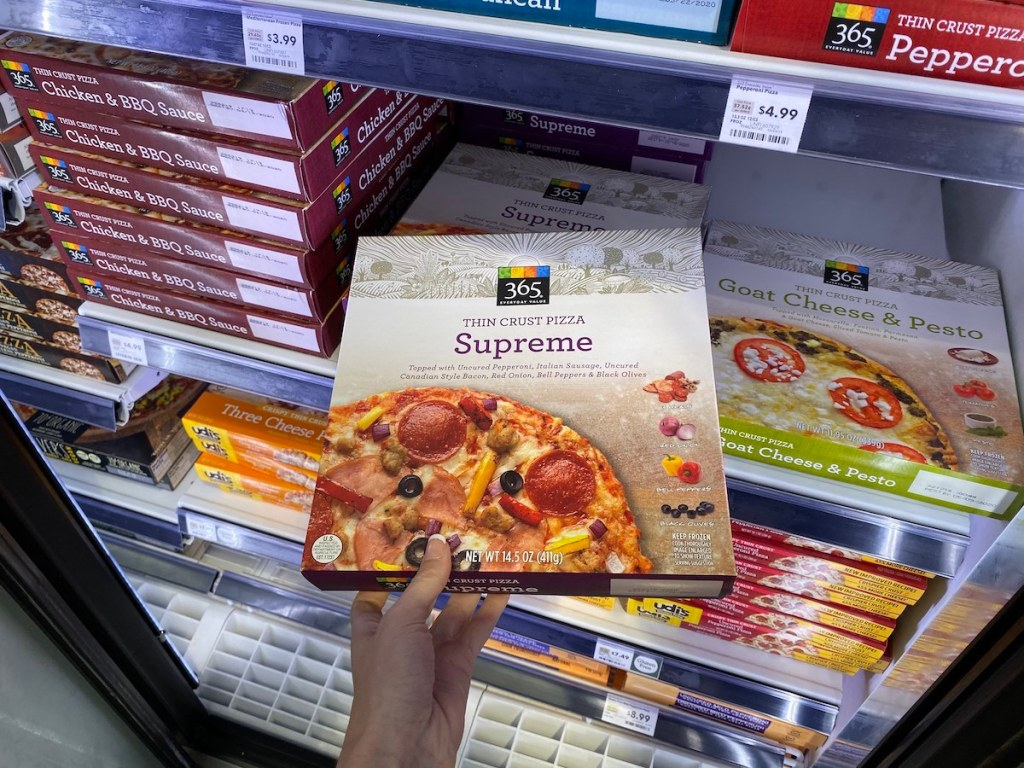 Whole Foods 365 Organic Pizza