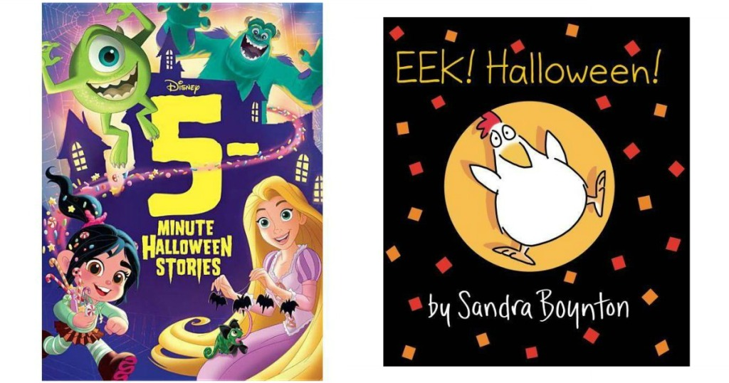 5 minute Halloween and Eek!