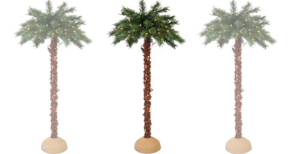 6-Foot Pre-Lit Palm Tree Only $69.99 Shipped