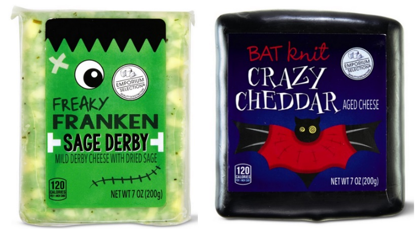 Halloween Cheeses from ALDI