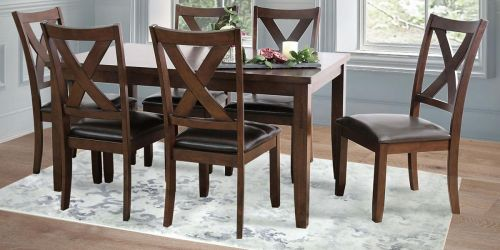 Abbyson Living Edgewater 7-Piece Dining Set Just $399.99 Shipped (Regularly $699)