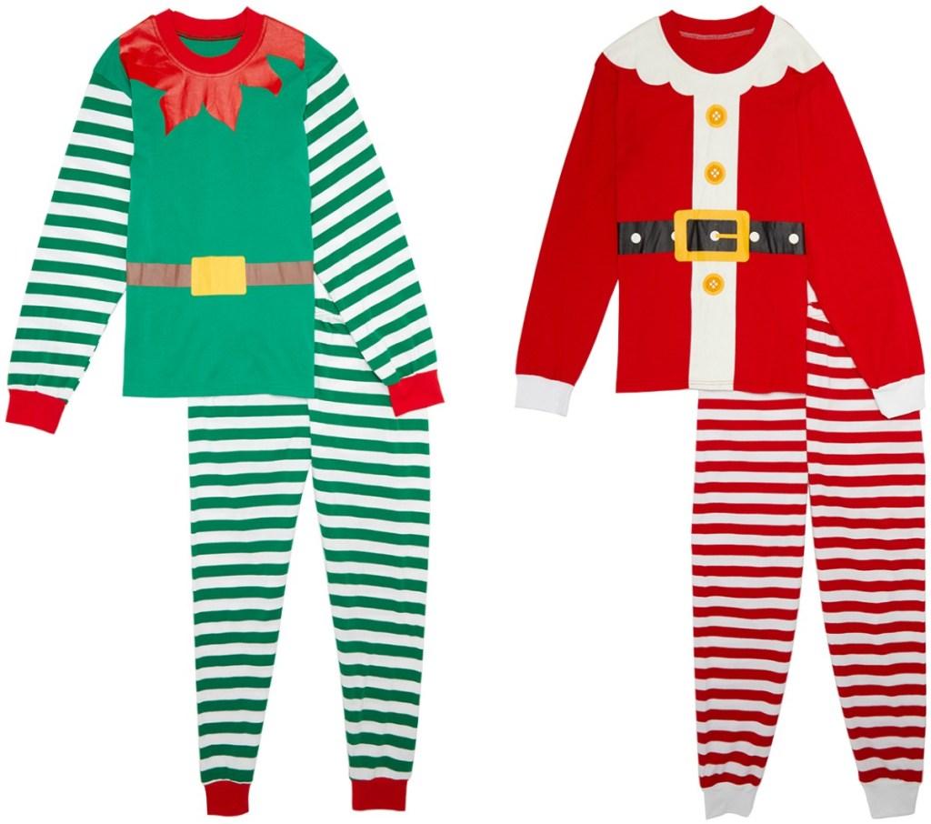 Adult holiday themed pajamas