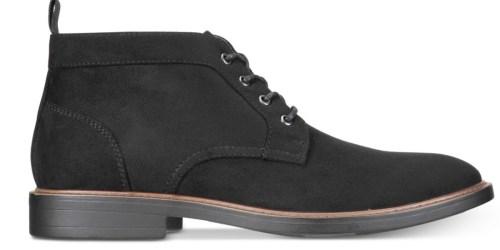 Alfani Men's Chukka Boots Only $19.99 at Macy's (Regularly $60)