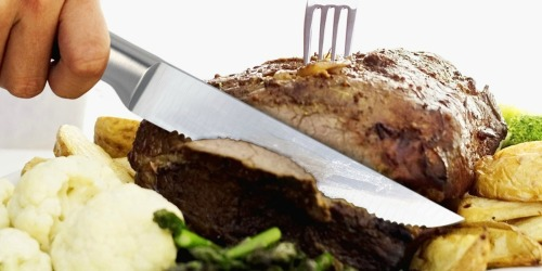 Stainless Steel Serrated Steak Knives 6-Piece Set Only $13.99 at Amazon