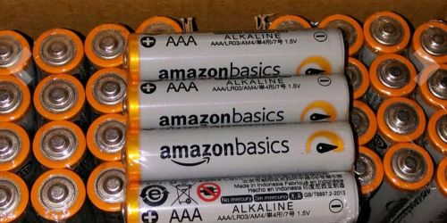 AmazonBasics Batteries AAA 20-Pack Only $4 Shipped + More