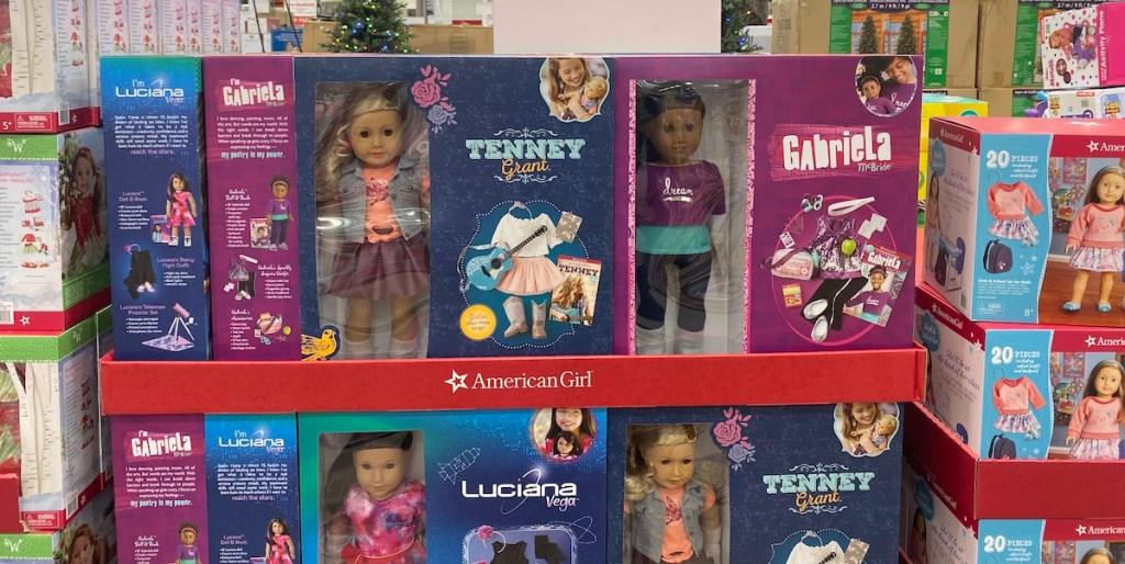 American Girl Dolls at Costco