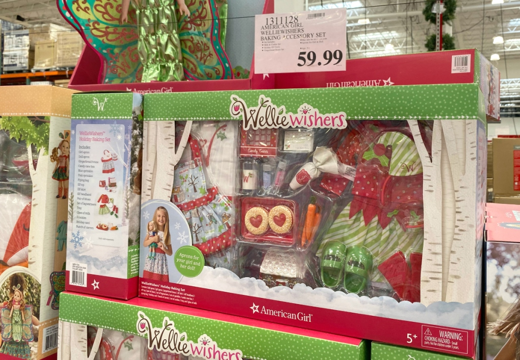 American Girl Wellie Wishers Baking Set at Costco