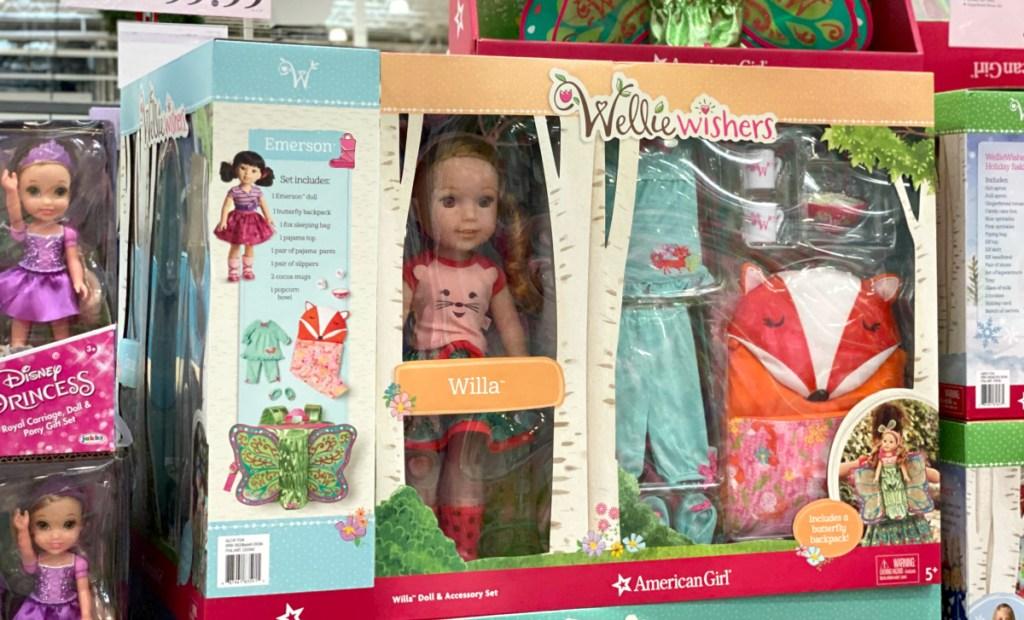 American Girl WellieWishers Doll Set Costco
