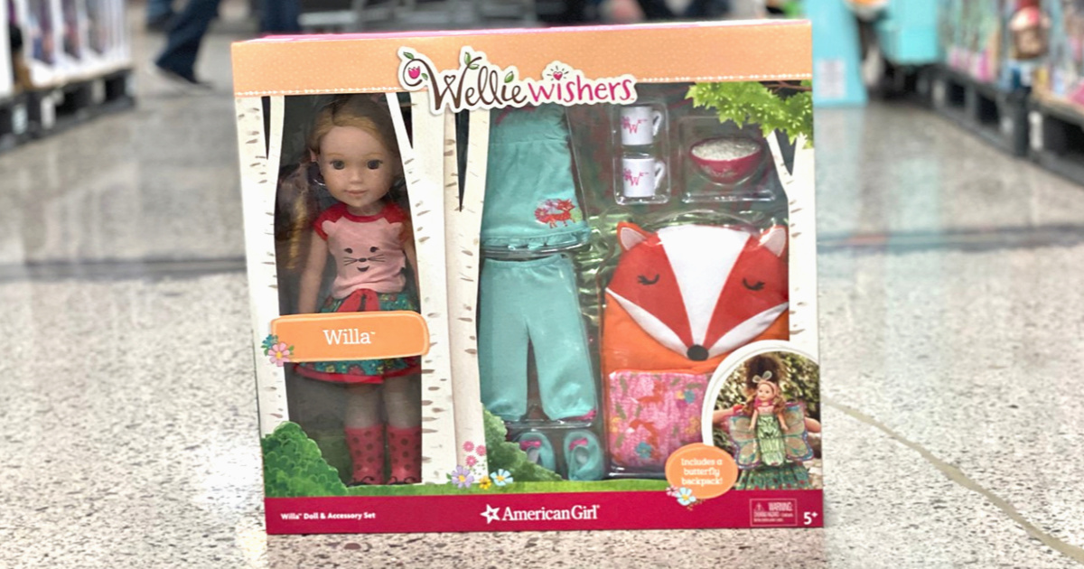 American Girl WellieWishers Doll and Accessories Set Willa