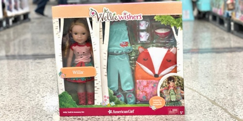 American Girl WellieWishers Doll & Accessories Set Just $99.99 at Costco (Regularly $160)