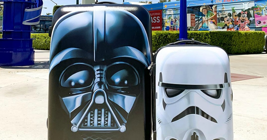 Darth Vader and Storm Trooper Suitcases