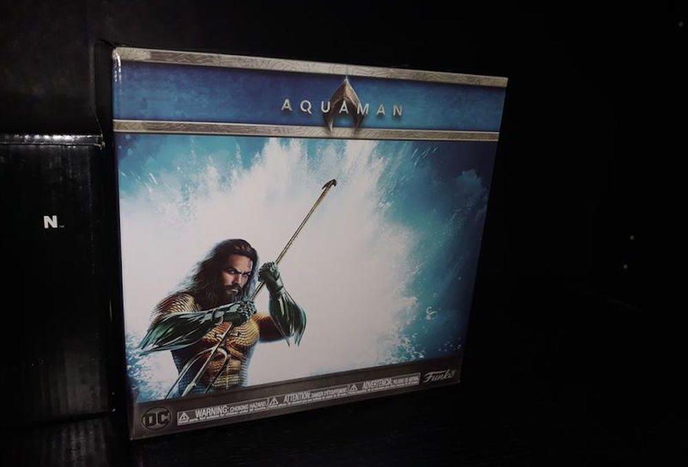 Aquaman Funko Box