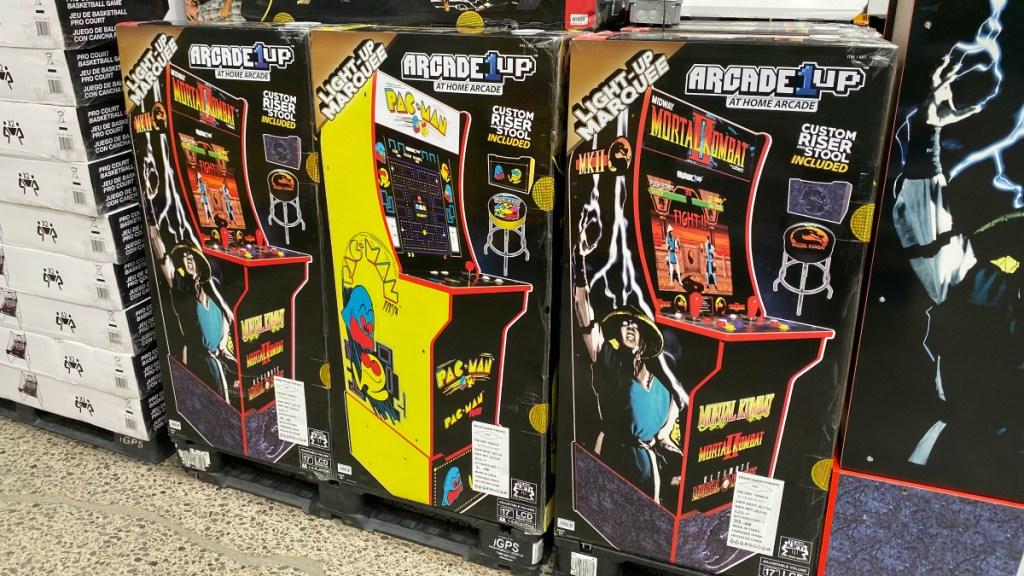 Arcade1Up Pac-Man Consoles