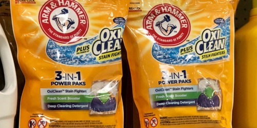 Arm & Hammer 3-in-1 Power Paks 100-Count Only $13 Shipped at Amazon