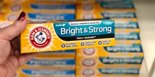 New $1/1 Arm & Hammer Toothpaste Coupon