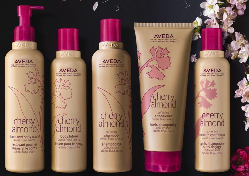 Aveda Cherry Almond Line