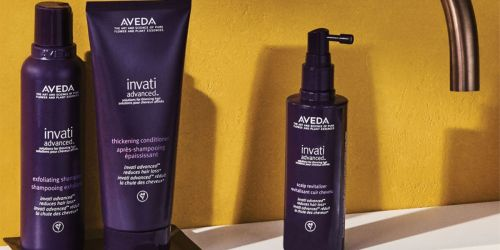 Save $25 Off $75 Aveda Purchase + FREE Foot & Hand Creme Travel Size Duo