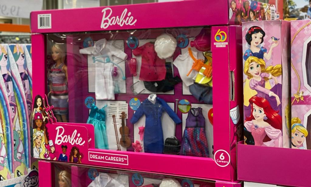 Barbie Dream Careers Set Costco