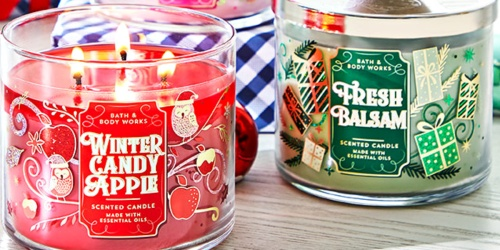Bath & Body Works 3-Wick Candles Just $11.95 Each Shipped (Regularly $25) | Stock up on Holiday Scents