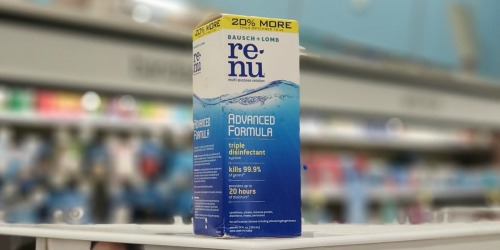 Bausch + Lomb Renu Solution Only 99¢ at Walgreens Starting October 13th