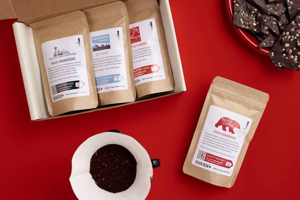 BeanBox coffees