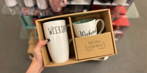 Belle Maison 2-Piece Mug Sets Only $11.99 + Free Shipping for Kohl's Cardholders