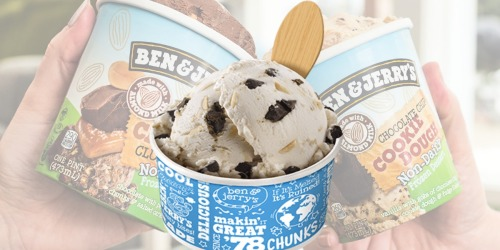 FREE Ben & Jerry's Non-Dairy Ice Cream on November 1st  | 4PM-8PM Only