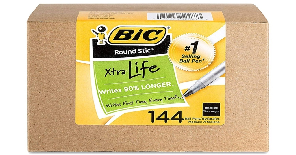 Box of BIC Pens, 144 Count
