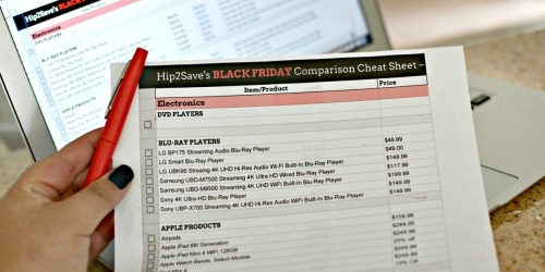 Our 2019 Black Friday Price Comparison Cheat Sheet is Here!